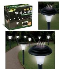 8 Solar Power Pathway Lights Garden LED Outdoor Lamp Yard Wall Fence Landscape