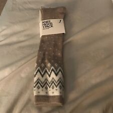 H&M Knee High Socks Wool Blend New  Socks