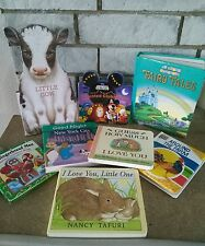 LOT of 8 board books BaBy ToDdLeR  mixed :) bunny mickey Carlyle cows tales NY