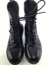 "Dr Doc Martens Cap Toe Boots Air Wair Inside Size Unclear Inches 91/2"" England"
