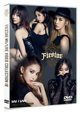 Fiestar - MV/Live Video Collection 19 (Chinese DVD, 19 tracks, NEW SEALED K-POP)