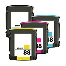 4PK Ink Cartridges for HP 88 XL HP88 K5400 K550 L7580 L7590 L7600 Pro Printer