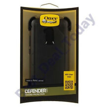 Oem Otterbox Defender Rugged Case Cover/Clip For HTC 1 One Max T6 Black 77-34019