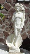 Atemberaubende Figur Akt Frau Skulptur Auf Alt Venus Botticelli Stuckgips 0337
