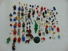 LEGO MINI FIGURES AUTHENTIC LOT OF FIGURES ACCESSORIES and spare parts