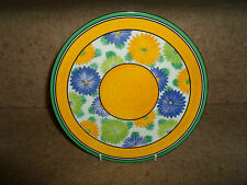 SUNGAY Wedgwood Plate Based On Original by Clarice Cliff A ZEST FOR COLOUR