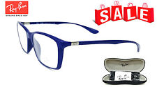 Ray-Ban RB 7036 5439 LITEFORCE Matte Dark Blue 55/17/145-[2 Eyeglasses CLEARANCE