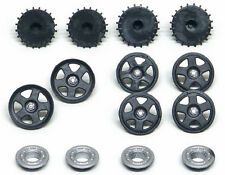 Slot It PA53 Plastic inserts, Lancia LC2 type, for 15.8mm wheels - (6 total)