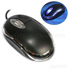 USB 3D Optical Wired Mouse Mice Scroll Wheel For PC Laptop Computer Macbook New