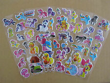 5 pieces My litte pony Fun Puffy 3D Cartoon Kids Girls / Boys Craft Stickers