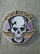 Metal Gear Solid OUTER HEAVEN Iron On patch from The Phantom Pain Venom Snake
