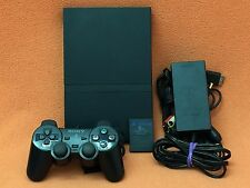 Sony PlayStation 2 PS2 System Slim Console DualShock Controller Bundle NICE!