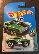 2017 Hot Wheels 69 Camaro Z28 Super CUSTOM with Real Riders