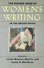 The Oxford Book of Women's Writing in the United States (1999, Paperback)