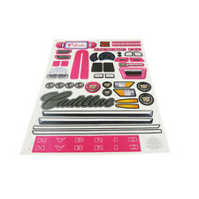 Power Wheels W6203 Fisher Price Barbie Escalade Label Decal Sheet Genuine
