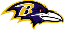 Baltimore Ravens NFL Color Die-Cut Decal / Car Sticker *Free Shipping