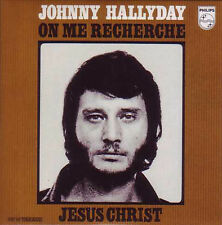 ☆ CD SINGLE Johnny HALLYDAY Jesus Christ ltd ed RARE NEUF ☆