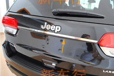 Stainless Steel Rear Trunk Lid Cover Trim For Jeep Grand Cherokee 2014 15