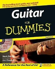 Guitar for Dummies by Jon Chappell and Mark Phillips (2005, Paperback, Revised)
