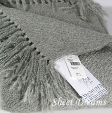 Churchill Weavers Berea Handwoven Acrylic Boucle Throw Blanket Willow Green New