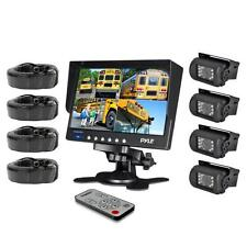 "NEW Pyle PLCMTR74 Backup Camera System 7"" LCD Color Monitor for Bus Truck  Van"