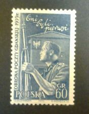 POLAND-STAMPS MNH Fi915 SC819 Mi1060 - Defence of the Polish Post, 1958, clean