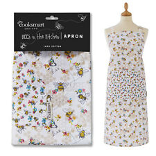 Ladies Women Apron Cooking Chef Kitchen Vintage Novelty Cotton Pocket Busy Bees