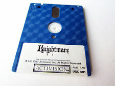 Activision 's KNIGHTMARE amstrad schneider cpc pal Game disk disc rare! collection