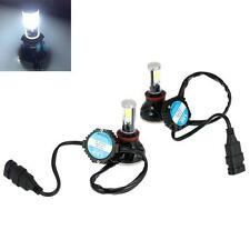 2X 40W 4000LM H8/H9/H11/H16 COB LED Headlight Fog Lamp 6000K Bulb Beam Kit FD9J
