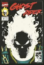GHOST RIDER #15 Glow In The Dark Cover MARVEL COMICS TEXIERA 1991 great! VF-
