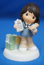Girl Scout We Can Always Count on You Precious Moments Figure Hispanic 104054