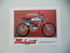 advertising Pubblicità 1971 MOTO MALAGUTI CAVALCONE CROSS 50
