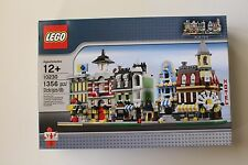 Retired LEGO 10230 Mini Modlars NIB 1356 Pieces  Very Hard to Find