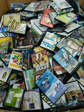 Lot of 100 Used Assorted DVD- 100 BULK DVDs Wholesale Lot