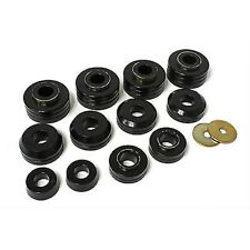 Energy Suspension 4.4104G 73-79 F150 F250 F350 2WD 4WD Body Mount Bushings Black