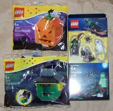 LEGO Halloween Accessory Set Witch Pumpkin 850487 40055 40032 Ghost Zombie tomb