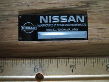 Nissan Metal Display Plaque Model Diecast 1/18 1/24 1/43 GTR Skyline Kyosho 300