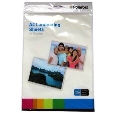 A4 Laminating Sheets - Polaroid - Pack of 10 Pouches