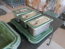 "MILITARY SURPLUS CAMBRO UPCS160 FOOD STORAGE CONTAINER CARRIER 6""DEEP+POLARWARE"