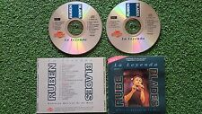 Latin Salsa RUBEN BLADES **La Leyenda** UNIQUE Spain 2 CD SET 1993 WILLIE COLON