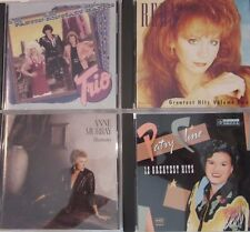 Country music CD lot of 4