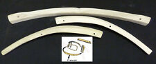VOLKSWAGEN (VW) BEETLE CONVERTIBLE WOOD REAR BASE BOW SET  1967-1971
