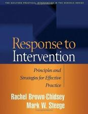 Response to Intervention: Principles and Strategies for Effective Practice (Prac