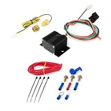 Adjustable Electric Fan Controller Kit 150° - 240° Thermal Switch Threaded Probe