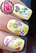 NAIL ART WATER TRANSFERS DECALS STICKERS COCKTAIL FRUITS SWEETS CHOCOLATE #417