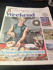 Silent Witness EMILIA FOX PHOTO COVER TIMES WEEKEND DECEMBER 2014