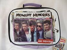Insulated Lunch Bag Set with Snack Box Bottle - One Direction L