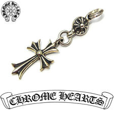 Free shipping CHROME HEARTS 1Ball Tiny CH Cross Charm 15-12934AO