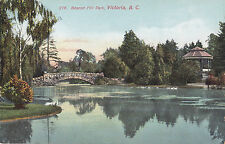 Beacon Hill Park VICTORIA British Columbia Canada 1907-15 W.J. Clubb Postcard