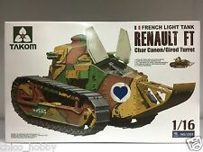 Takom 1/16 Scale French Light Tank Renault FT Char Canon Girod Turret FT-17 WWI